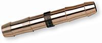 Соединитель шлангов 6 мм, латунный