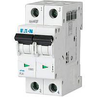 Автоматический выключатель EATON (MOELLER) PL4-C6/2