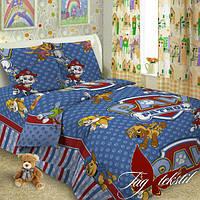 Детское постельное белье Paw Patrol 1,5-спальное