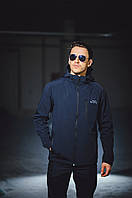 Куртка, ветровка, демисезонная, мужская, весенняя, осенняя F&F Navy