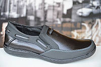 Туфли мокасины мужские цвет черный Львов 2016. Экономия 85 грн