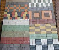 Тротуарная плитка вибропресованная. Купить в Днепропетровске.