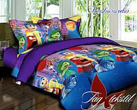 Детское постельное белье Головоломка 1,5-спальное