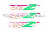 Наклейки (набор)   Yamaha JOG ARTISTIC SPEC   (22х5см 3шт)   (#1207)