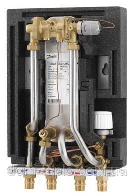 Проточная станция приготовления горячей воды Danfoss Akva Lux II тип 2 (XB06H-1-40) 32.3 - 53 кВт