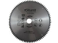 Диск пильный ламинат/алюминий/пластик Sturm 9020-255-30-80TA, 255х30 мм 80 зубов