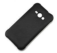 Силиконовый чехол под кожу для Samsung J110 Galaxy J1 Duos черный