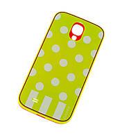 Чехол для Samsung i9500 Galaxy S4 Araree Polka Dots зеленый