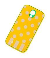 Чехол для Samsung i9500 Galaxy S4 Araree Polka Dots желтый