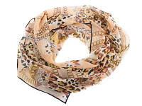 Женский крепдишиновый шарф venera c270025-beige