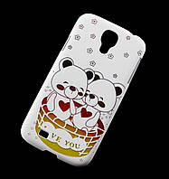 Чехол для Samsung i9500 Galaxy S4 Fashion Case Plastic Bear