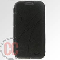 Чехол-книжка для Samsung Galaxy S4 i9500 (черный)
