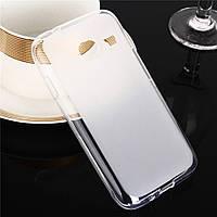 Силиконовый чехол для Samsung J105H Galaxy J1 Mini матовый / прозрачный