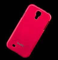 Чехол для Samsung i9500 Galaxy S4 Hollo Plastic розовый