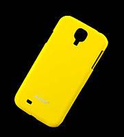 Чехол для Samsung i9500 Galaxy S4 Hollo Plastic желтый