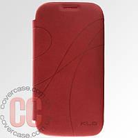 Чехол-книжка для Samsung Galaxy S4 i9500 (красный)