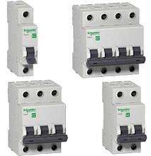 Автоматические выключатели Schneider Electric серии Easy9 «EZ9»