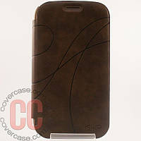Чехол-книжка для Samsung Galaxy Grand i9080 Duos i9082 (коричневый)