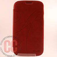 Чехол-книжка для Samsung Galaxy Grand i9080 Duos i9082 (красный)
