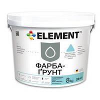 Краска-Грунт ELEMENT – Белая краска-грунт  25кг