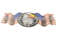 "Наклейка   декор   ""USA""   (42х13см)   (#3198)"