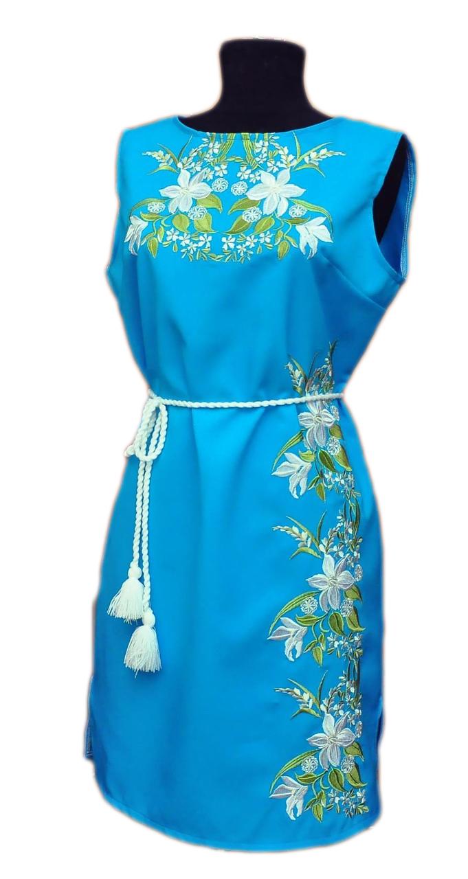 """Женское вышитое платье """"Кейрон"""" PN-0035"""