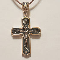 Золотой крестик. Распятие Христа. Артикул 31574/3