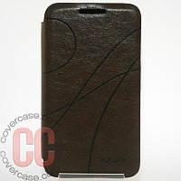 Чехол-книжка для Samsung Galaxy Ace 3 duos s7272 (коричневый)