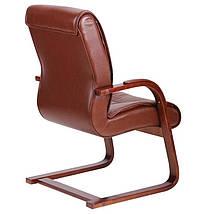 Кресло Монтана CF, кожа коричневая (619-D+PVC), фото 2