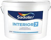 Краска для стен INTERIOR 7 Sadolin, 10л. Доставка НП бесплатно.