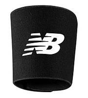 Держатели щитков New Balance, Нью Беленс, черные, ф4266