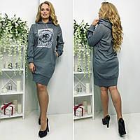"""Стильное платье-туника для пышных дам """" Ритм """" Dress Code"""