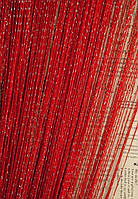 Дождь №17 Красный / Серебро