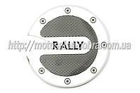 """Наклейка   на крышку бака   """"RALLY""""   (13х13см)   (#4481)"""