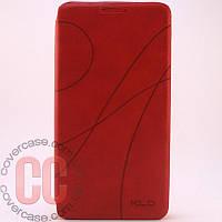 Чехол-книжка для Samsung Galaxy S Duos S7562 (красный)