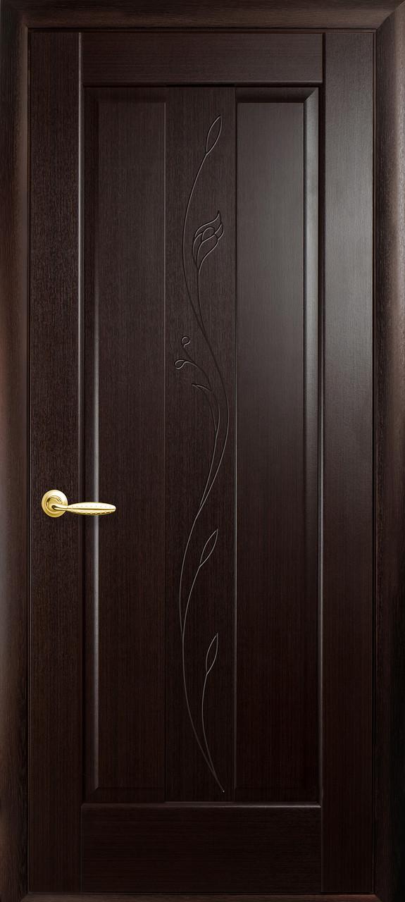 Межкомнатные двери Новый Стиль Премьера ПГ с гравировкой