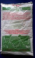 Минерол 1 кг, минеральная кормовая добавка для животных и птицы