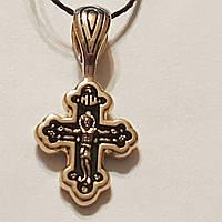 Золотой крестик. Распятие Христа. Артикул 31502-3/01/4