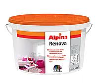 Краска дисперсионная ALPINA RENOVA для потолков, 5л