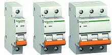 Автоматические выключатели Schneider Electric серии «Домовой» ВА63