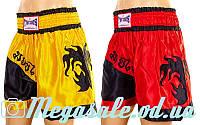 Трусы для тайского бокса (шорты для единоборств) 6138: M/L/XL