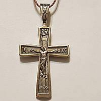Золотой крестик. Распятие Христа. Артикул 31360/2Б