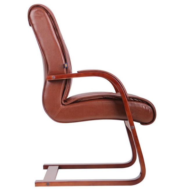 Кресло Монтана CF, кожа коричневая (619-D+PVC) фото 3