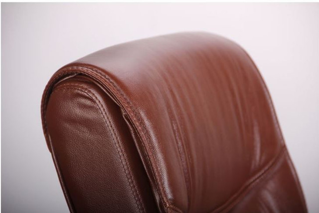 Кресло Монтана CF, кожа коричневая (619-D+PVC) фото 5