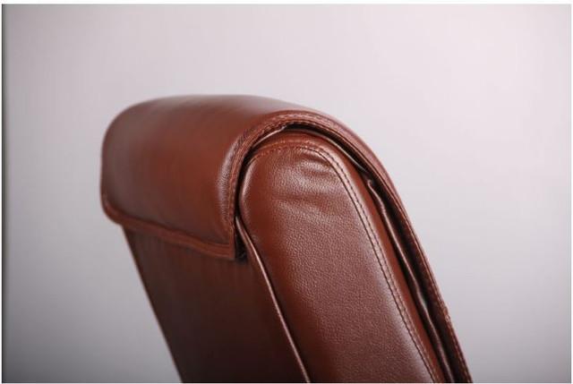Кресло Монтана CF, кожа коричневая (619-D+PVC) фото 6