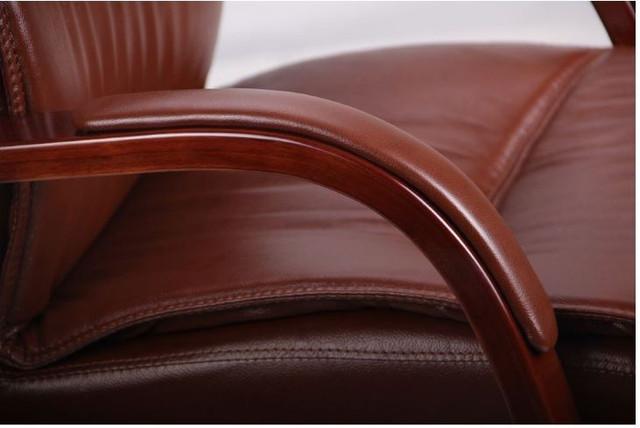 Кресло Монтана CF, кожа коричневая (619-D+PVC) фото 7