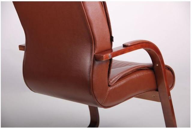 Кресло Монтана CF, кожа коричневая (619-D+PVC) фото 8