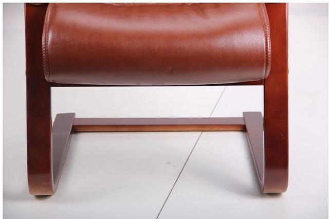 Кресло Монтана CF, кожа коричневая (619-D+PVC) фото 9