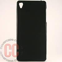 Чехол-накладка TPU для Sony Z3 (черный)