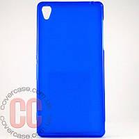 Чехол-накладка TPU для Sony Z3 (синий)